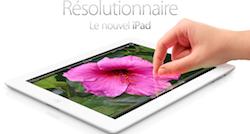 iPad3 Plus de 62% des tablettes vendues sont des iPad !