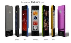 iPod Nano2 concept Un concept diPod Nano assez original