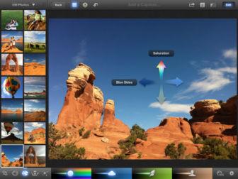 iphoto screen 1 iPhoto fait son entrée sur lApp Store (3,99€)