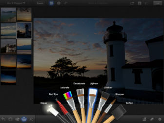 iphoto screen 2 iPhoto fait son entrée sur lApp Store (3,99€)