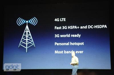 nouvel ipad 4G Apple présente The New iPad