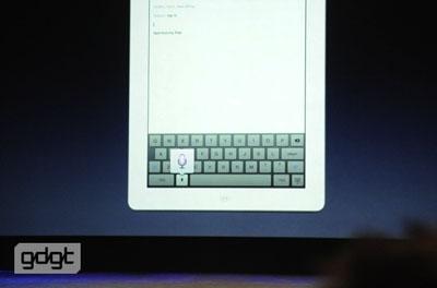 nouvel ipad dictee Apple présente The New iPad
