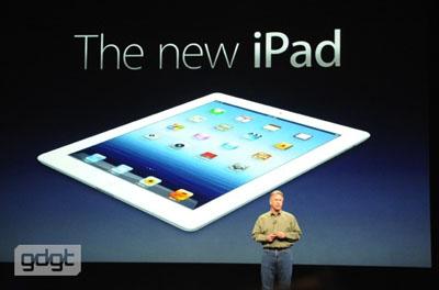 nouvel ipad header Apple présente The New iPad