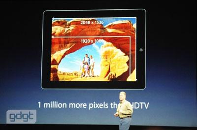 nouvel ipad retina Apple présente The New iPad