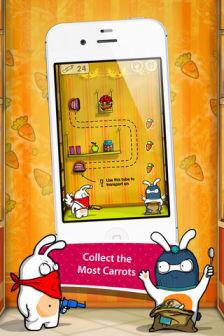 robber rabbits Les bons plans de lApp Store ce mercredi 7 mars 2012