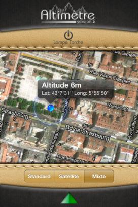 Alti 2 Lapplication altimètre V2 est gratuite temporairement en partenariat avec App4Phone