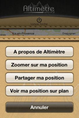 Alti 3 Lapplication altimètre V2 est gratuite temporairement en partenariat avec App4Phone