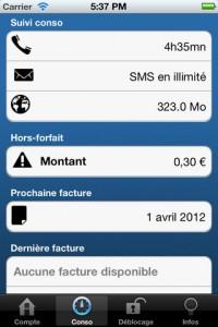 BMe 1 200x300 B&Me (0,79€) offre le suivi conso pour votre forfait Be&You