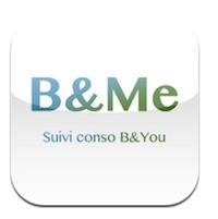 BMe Logo B&Me (0,79€) offre le suivi conso pour votre forfait Be&You