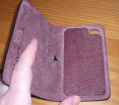 CcrsLeatherArcEvouni 031 Concours : Un étui innovant Leather Arc Cover d'Evouni pour iPhone 4/4S à gagner ! (55€)