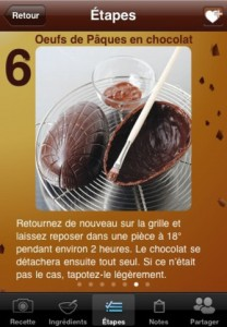 Chocolat et gouters Paques 208x300 Notre dossier dapplications pour fêter Pâques