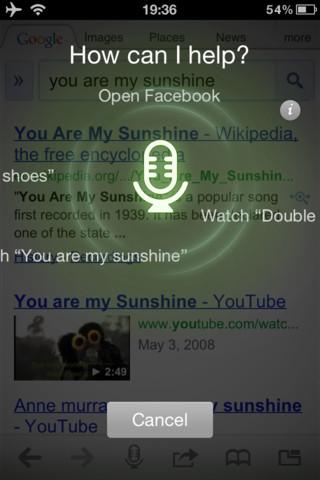 Dolphin Browser fonction vocale1 Mise à jour de Dolphin Browser : fonction vocale ajoutée au navigateur