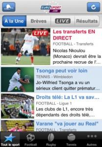 Eurosport 208x300 Les App4Tops de la semaine 17 : nos coups de coeur