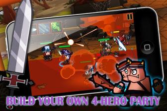 Heroes vs monsters Les bons plans de lApp Store ce dimanche 1er avril 2012