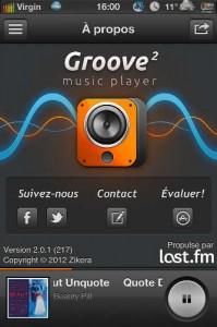 IMG 0390 199x300 Groove 2 : une excellente alternative au lecteur natif de liPhone...(1,59€)