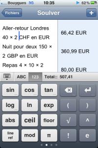 IMG 0701 200x300 Test de Soulver, une calculatrice intelligente (2.99€)