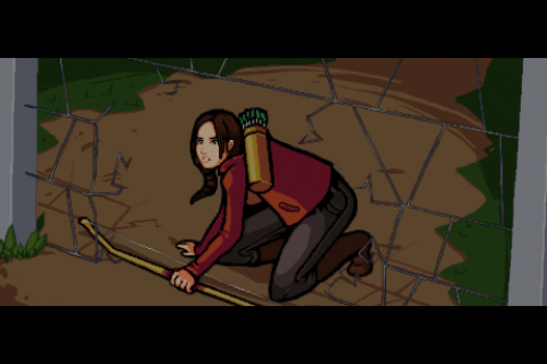 IMG 0940 500x333 Test de Hunger Games (gratuit), le retour à la Game Boy dans les toilettes.