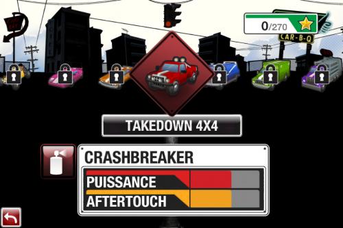 IMG 0976 500x333 Test de Burnout Crash (3,99€) : un sacré défouloir !