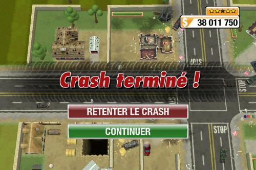 IMG 0979 500x333 Test de Burnout Crash (3,99€) : un sacré défouloir !