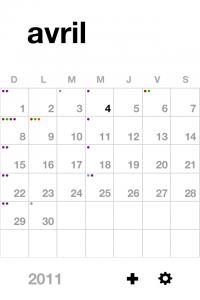 IMG 1794 200x300 Test dEvent Calendar (Tempus): un très beau calendrier pour gérer vos rendez vous (2,39€)
