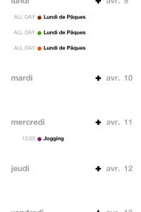 IMG 1795 200x300 Test dEvent Calendar (Tempus): un très beau calendrier pour gérer vos rendez vous (2,39€)