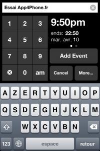 IMG 1796 200x300 Test dEvent Calendar (Tempus): un très beau calendrier pour gérer vos rendez vous (2,39€)