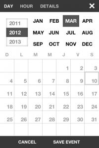IMG 1799 200x300 Test dEvent Calendar (Tempus): un très beau calendrier pour gérer vos rendez vous (2,39€)