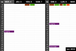 IMG 1801 300x200 Test dEvent Calendar (Tempus): un très beau calendrier pour gérer vos rendez vous (2,39€)