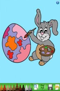 Livre de coloriage 200x300 Notre dossier dapplications pour fêter Pâques