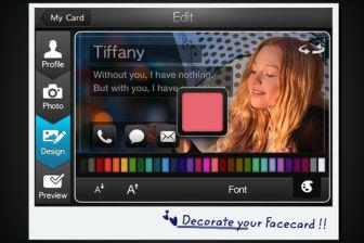 MyFaceCard Les bons plans de lApp Store ce mercredi 18 avril 2012