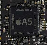 Processeur A5 Les derniers iPad 2 possèdent un processeur A5 amélioré