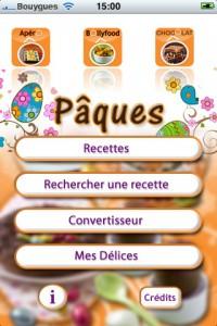 Recette cuisine Odelices 200x300 Notre dossier dapplications pour fêter Pâques