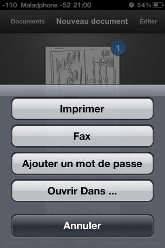 Scanner pic10 333x500 Test de Scanner Pro (5,49€) : Pas révolutionnaire mais super pratique. Et hors de prix...