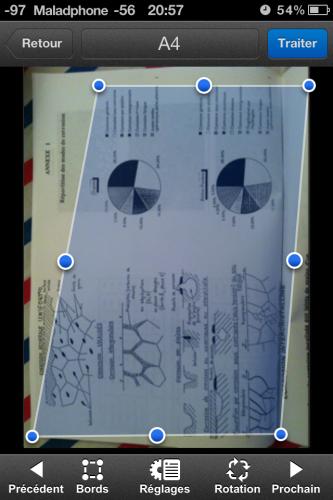 Scanner pic7 333x500 Test de Scanner Pro (5,49€) : Pas révolutionnaire mais super pratique. Et hors de prix...