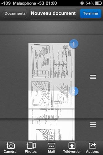 Scanner pic8 333x500 Test de Scanner Pro (5,49€) : Pas révolutionnaire mais super pratique. Et hors de prix...