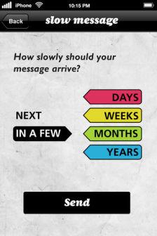 Slow message Les bons plans de lApp Store ce mercredi 18 avril 2012