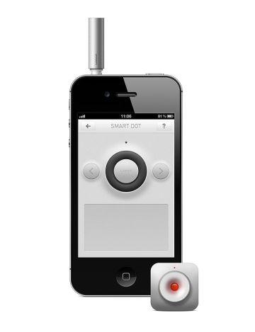 SmartDot trackpad Nouveauté App4Shop : SmartDot, le pointeur laser pour iPhone 4 et 4S