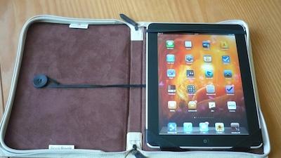 TestBookbookiPad 013 Test de létui Bookbook pour iPad (52€): un Étui alliant beauté et protection