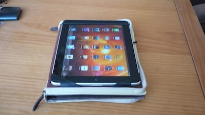 TestBookbookiPad 020 Test de létui Bookbook pour iPad (52€): un Étui alliant beauté et protection