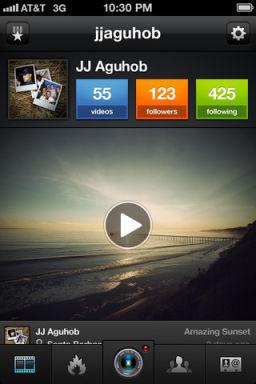 Viddy 1 Viddy (gratuit), le nouvel instagram ?