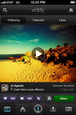 Viddy 2 Viddy (gratuit), le nouvel instagram ?