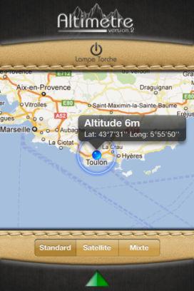 alti 1 Lapplication altimètre V2 est gratuite temporairement en partenariat avec App4Phone