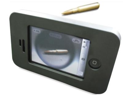 coque blindée avec balle Une coque à lépreuve des balles pour votre iPhone!