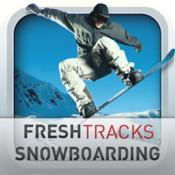 icone Fresh tracks snowboarding, lhiver est fini mais la glisse continue.