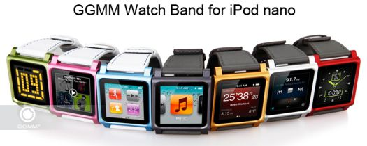 nano Watch Promo App4Shop :  %20 sur le Bracelet NanoWatch pour iPod nano
