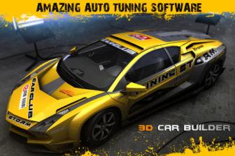 3D Car builder Les bons plans de lApp Store ce samedi 12 mai 2012