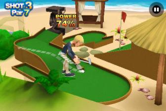 3D Mini golf Les bons plans de lApp Store ce jeudi 24 mai 2012