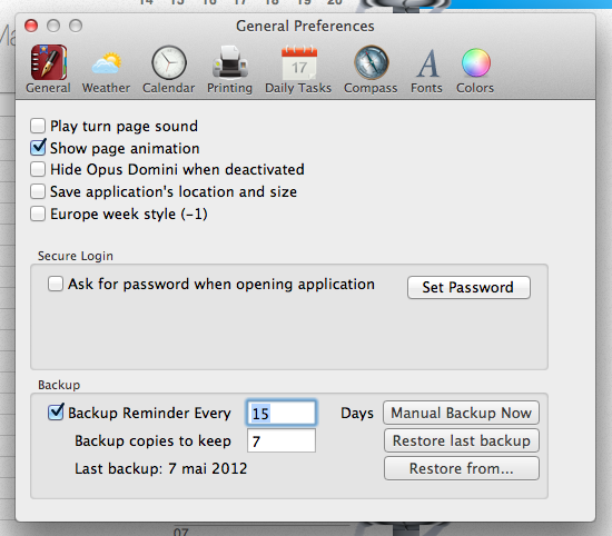 Capture d'écran 2012 05 07 à 20.30.496 App4Mac: Opus Domini, un vrai agenda pour Mac (6,99€)