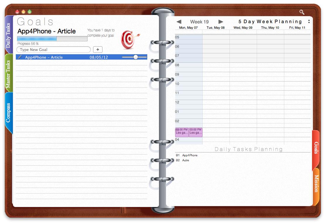 Capture d'écran 2012 05 07 à 20.34.26 App4Mac: Opus Domini, un vrai agenda pour Mac (6,99€)