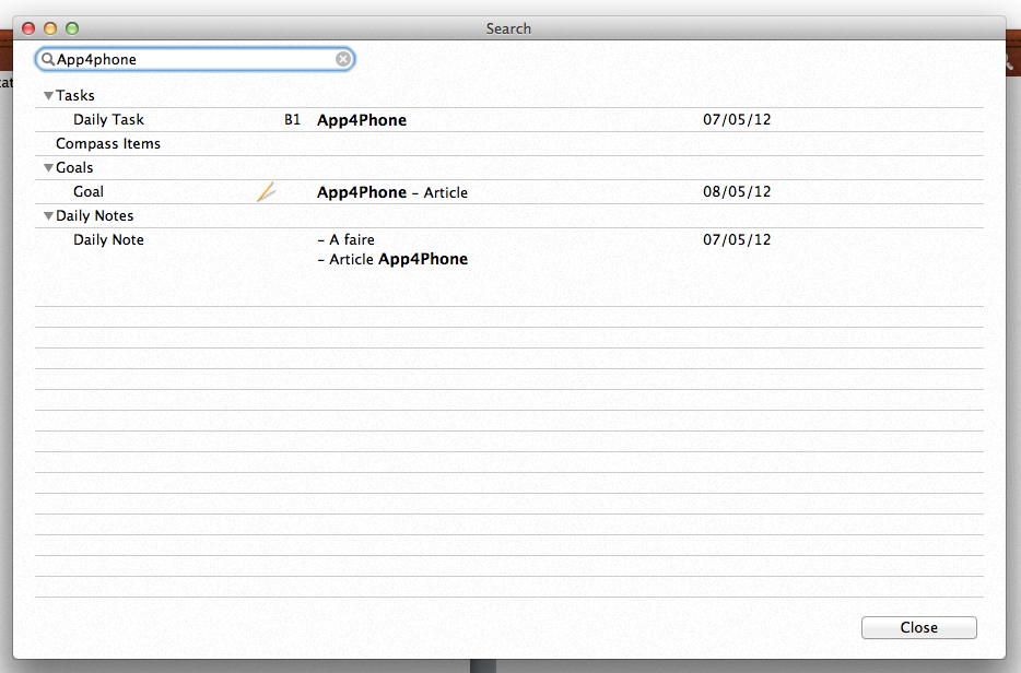 Capture d'écran 2012 05 07 à 20.34.54 App4Mac: Opus Domini, un vrai agenda pour Mac (6,99€)